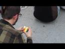 Rubik's cube solving by german football fan FIFA2018