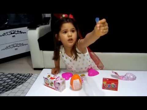 Kinder Joy Sürpriz Yumurta- Toybox, Kalpli Barbie Açıyoruz