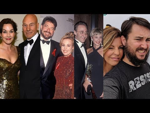 Star Trek: The Next Generation ... and their real life partners