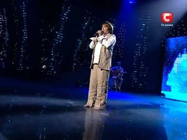 Никита Киселев «Я тебя никогда не забуду» «Україна має талант - 2» Второй прямой эфир