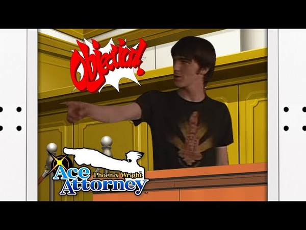 Drake and Josh in Ace Attorney