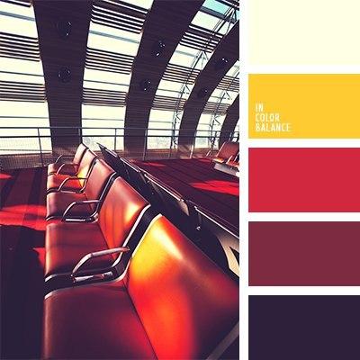 Цветовое сочетание .