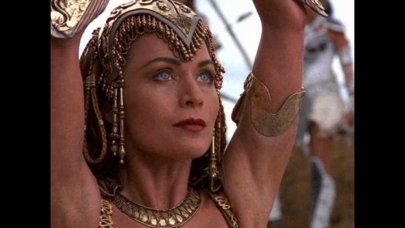 Great Athena - The Goddess of wisdom, courage and inspiration (Xena - Warrior Princess)