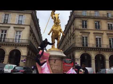 Jeanne d'Arc violée par les rats de la Ligue de Défense Noire Africaine : personne ne réagit