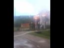 Пожар на улице Первомайская, 3 часа утра. Суббота 9 июня.