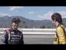 Drift Legend Ken Gushi teaches Erik Jones how to drift