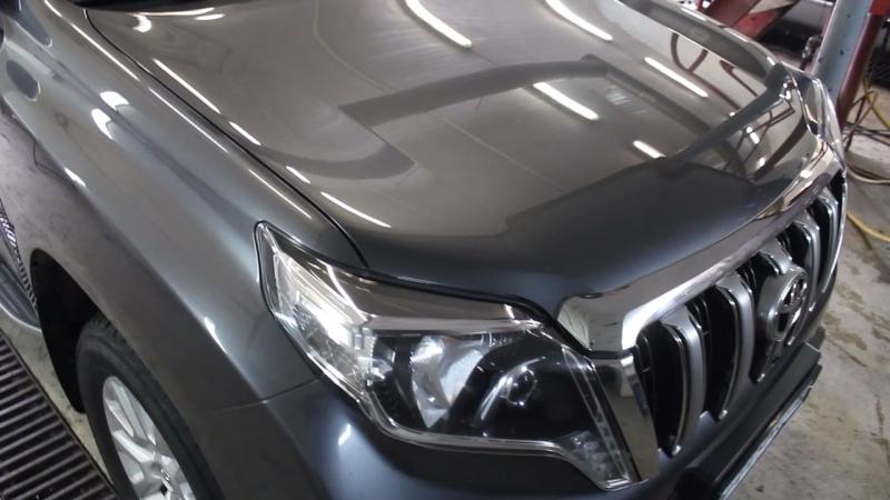 МойCar   Toyota Land Cruiser Prado в нанокерамике