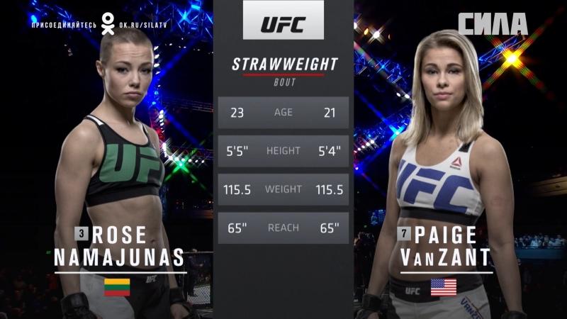 UFC 223 Free Fight: Rose Namajunas vs Paige VanZant