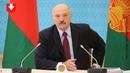 В отставку Лукашенко пригрозил увольнением нескольким министрам