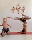 Крутая мамочка@rimma_pryadchenko(Инстаграм) заряжает позитивом и мотивацией!