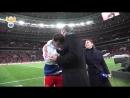 Слуцкий выдал поджопник Алану Дзагоеву в перерыве матча с Бразилией