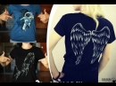 Бесплатная роспись вашей футболки от Группы KALINA| art graphic design | Perm