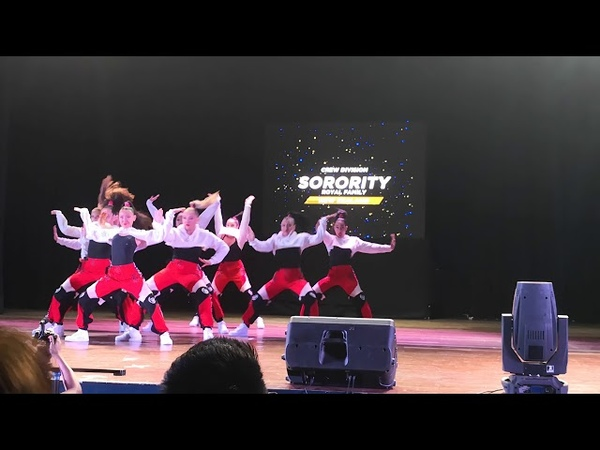 SORORITY | ROYAL FAMILY | NEW ZEALAND | 9-MAN CREW DIVISION | STUDIO CHALLENGE 2018