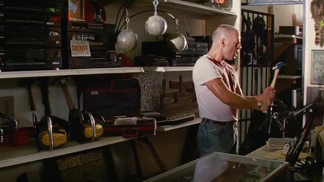 Choose a hammer, choose a baseball bat, choose a chainsaw, choose a life...