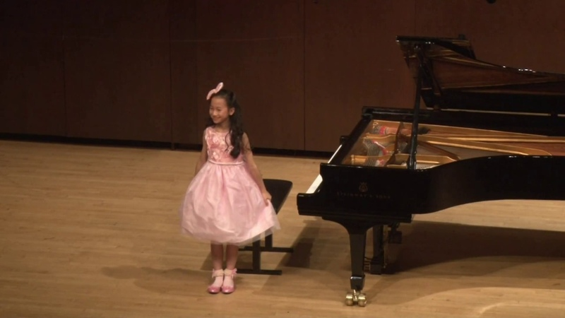 Harmony Zhu (age 10) - Liszt Hungarian Rhapsody No. 11 in A Minor