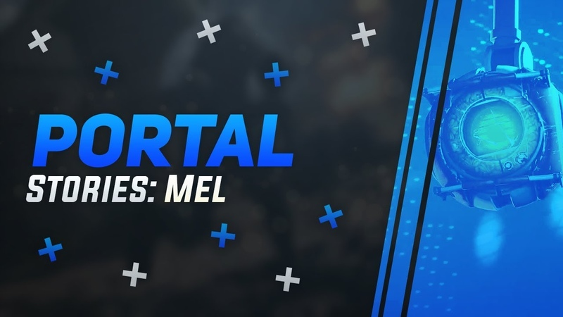 Забытые истории Aperture   Астронавт, герой войны или олимпиец Кейв, ты где   Portal Stories Mel