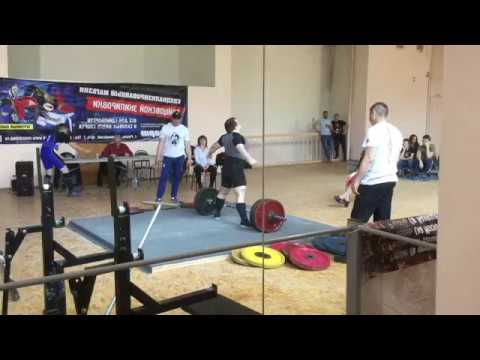Становая тяга 175 кг (Deadlift 386 lbs)