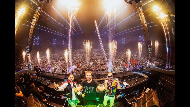 Dimitri Vegas Like Mike b2b David Guetta - Live Set at AMF Festival 2018