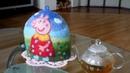Подарки ручной работы для женщин Грелка на чайник Свинка Пеппа