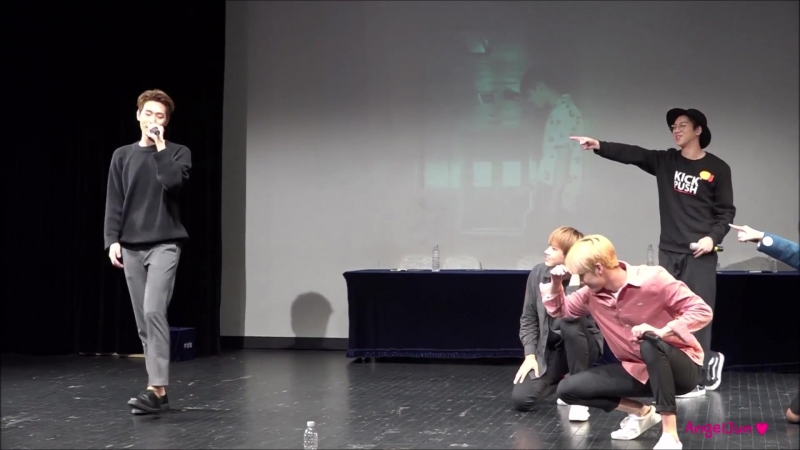 170924 [fancam] 크나큰(KNK) – Tonight (all focus) @ Sinchon fansign