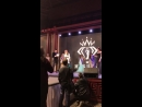 Кристина Гирева вручает мне Анастасия Климчук наминацию MisspremiumnewsTV