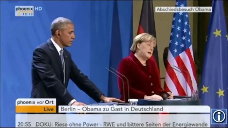 Angela Merkel verplappert sich live im TV