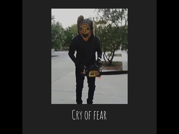 Cry of Fear - Saw runner cosplay