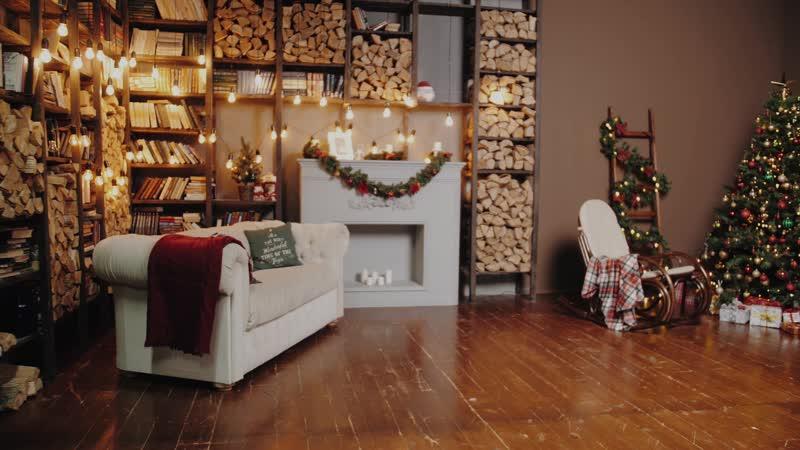 Дом, милый дом - Новогодний интерьер - Каминная зона