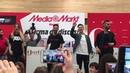 Agoney, Raoul, Mimi y Juan Antonio bailan Shake It Off en San Sebastián 3-2-18