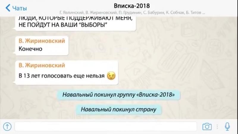 Выборы. Вписка. 2018 :D