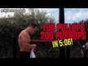 100 Pullups/200 Pushups in 5:06 min - NewEra the Bar-Barian