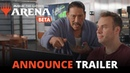 Magic The Gathering Arena - Open Beta Announce Trailer Official