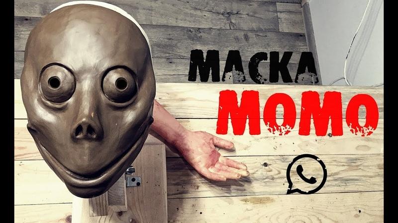 Как сделать маску МОМО из WhatsApp\Что такое Момо на самом деле (1 часть)