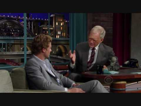 Simon Baker on the Late Show 23-09-09