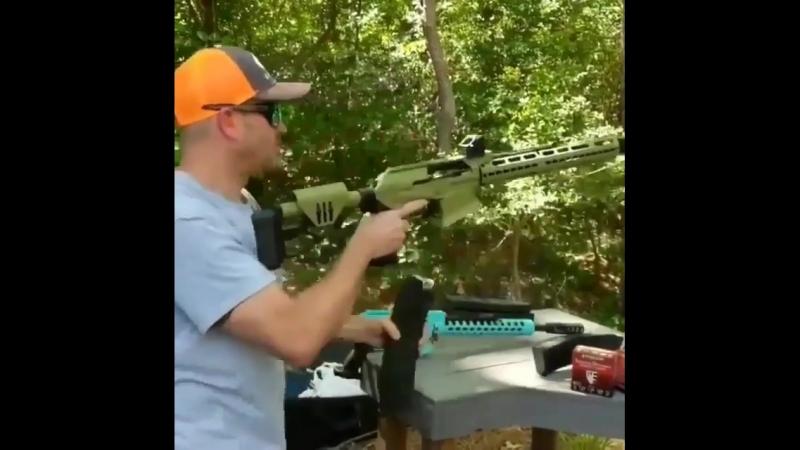 Стрельба из XTR-12 AR