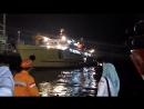 Ship (Sabuk Nusantara 105) Launching with Marine Airbags at PT Dumas Tanjung Per