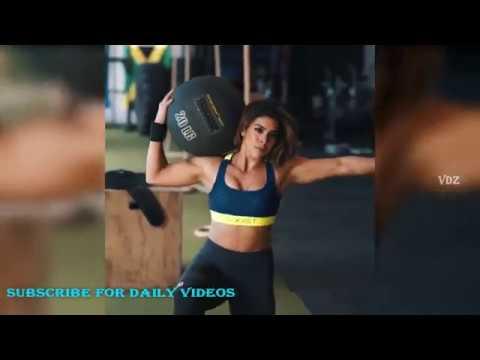 Female Fitness Motivation workout of Heba Ali 2018