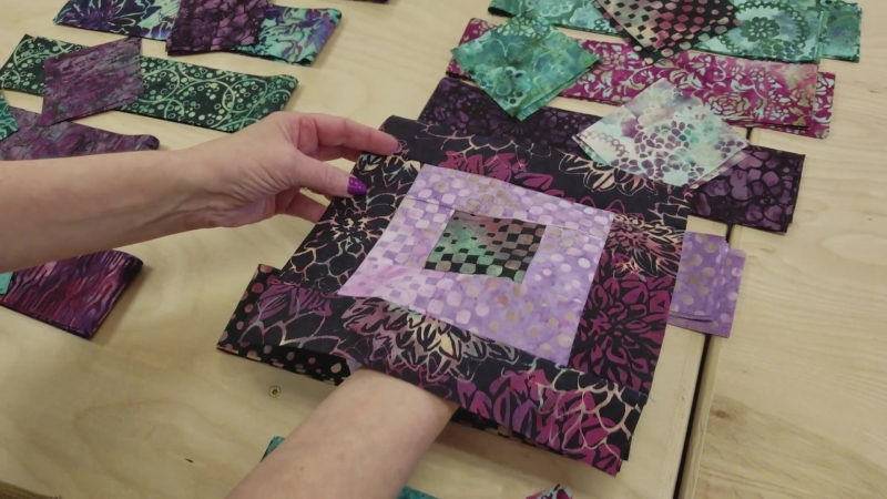 A Real BREEZE to Make! Tropical Breeze Quilt ) Giveaway!