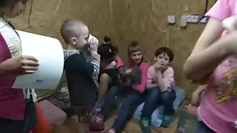 Детки из Копейского приюта в изоляторе