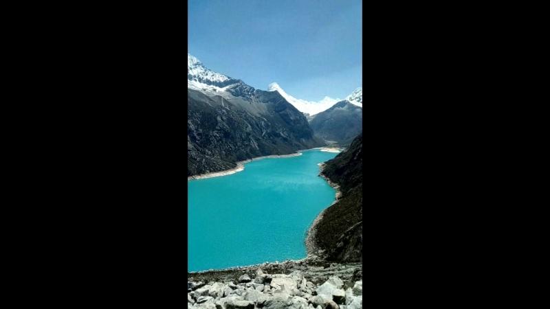 Озеро Парон высота 4200м Перу