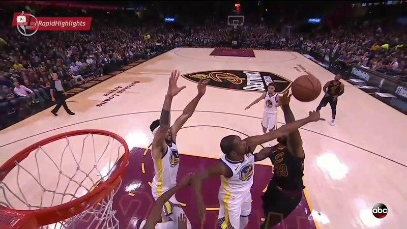 Голден Стэйт Уорриорс vs Кливленд Кавальерс | Финал | Обзор матча | Игра 3 | 1718 NBA Final