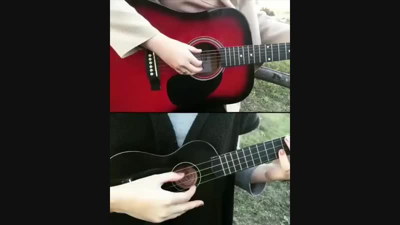 Melovin instrumental cover З тобою, зи мною, и годи