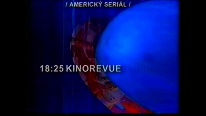 Программа передач и конец эфира (TV Premiéra [Чехия], 19.10.1996)