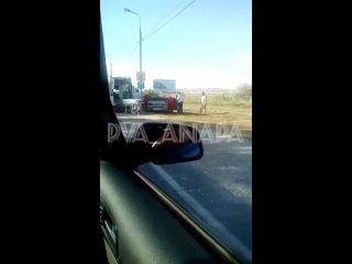 Авария, недавно по верхней дороге, на выезде с города, пробка жесть