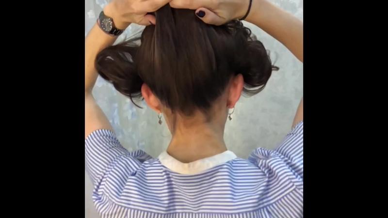 Окрашивание волос с карамельными прядями