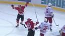 Моменты 2017/2018 • Чед Рау отличился в первом ОТ 3х3 в истории КХЛ 19.12