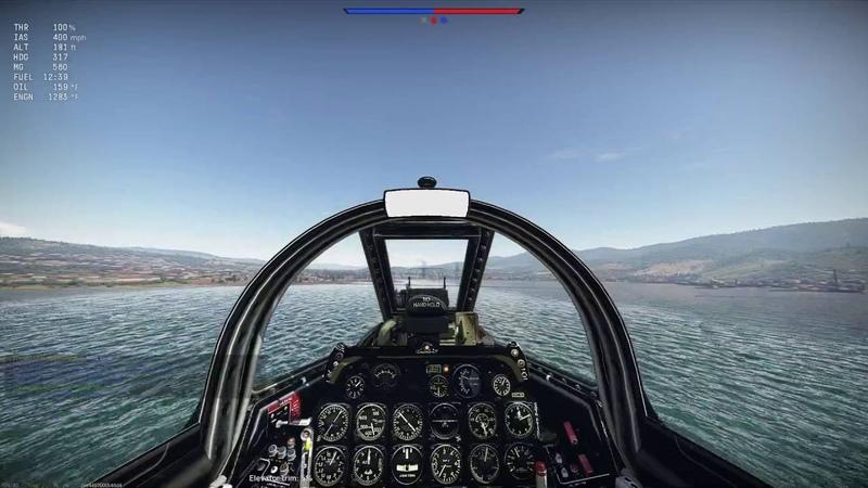 Warthunder Sim Battle: Fun F-86 Game!