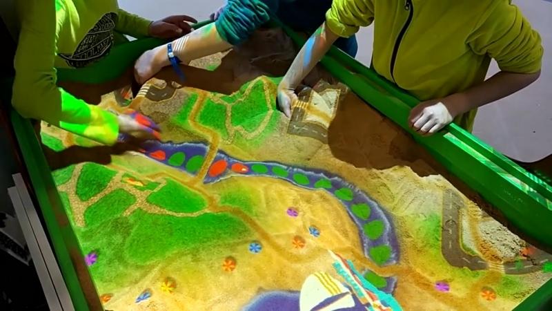 Интерактивная песочница : Режим Построй город