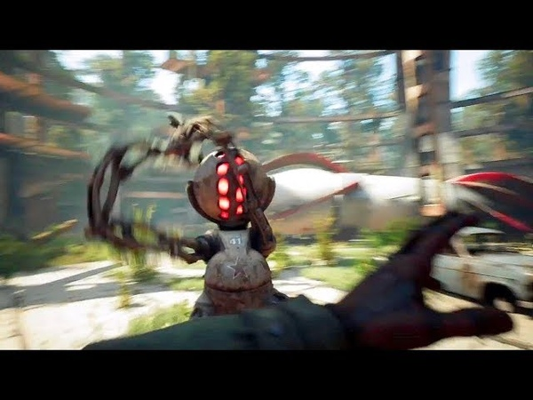 ATOMIC HEART - Exclusive Gameplay Trailer (New FPS Soviet-Union Game) 2018 PS4/Xbox One/PC