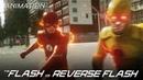 The Flash VS Reverse Flash - CW 3D Fan Animation